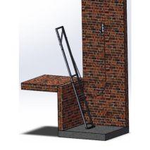 Pit Ladder Okatt Slim Ladder L100