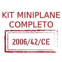 KIT COMPLETO MINIPLANE ADAPTACIÓN 2006/42/CE
