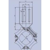 DAMPENING ROLLER DRL 1,20 / 1,75 M/S DRAKO
