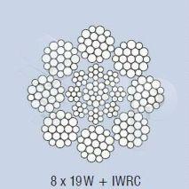 CABLE WARRINGTON 8X19+IWRC Ø14