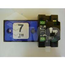 Compac Pushbutton Halo Bra Blue 1C 24V (7) Ti
