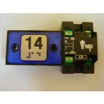 Compac Button Halo Bra Blue 1C 24V (14) Ti