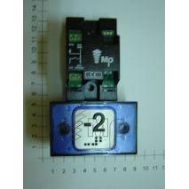 Compac Pushbutton Halo Br Blue 1C 24V (-2) Ti
