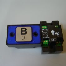 Compac Button Halo Bra Blue 1C 24V (B) Ti