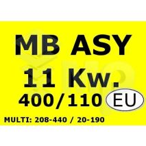 Controller MB Asynchronous DSP 11.0Kw 400V W/O Res 10S
