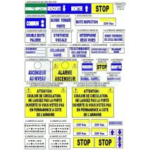 Sticker Labels Iph French