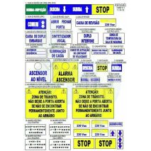 Sticker Labels Iph Portugues