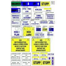 Sticker Labels Iph Swedish