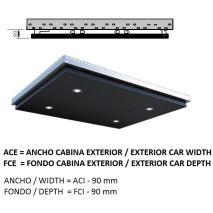 Ceiling Acxfc< 1.06 M2 L40 Koloro (4 Hal) H=80