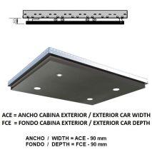 Ceiling Acxfc< 1.06 M2 L40 Platinum K41 (4 Hal) H=80