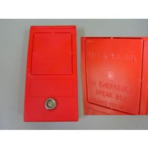 Key Red Box for Machine Room (EnglishText)