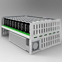 ERS 2G Regenerativo Convertidor DC/DC Almacenamiento Energía en Supercapacidades